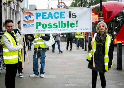 Peace March 1