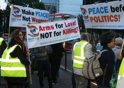 Peace March 3