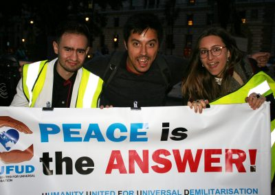 Peace March 4